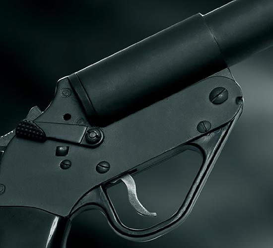 Pistole lanciarazzi